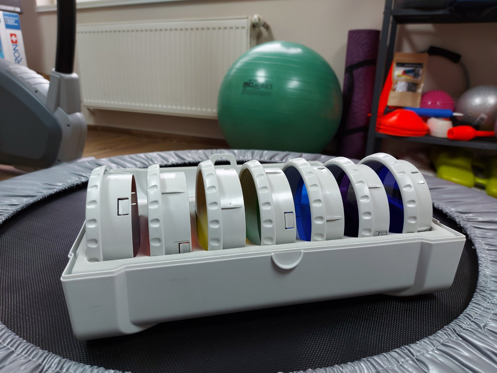 цветни филтри за Биоптрон лампа